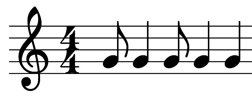 Synkope - Schwierigkeit bei Liedauswahl