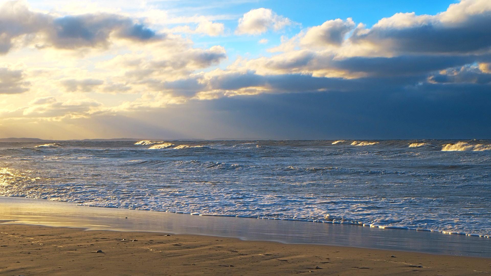 Meer Strand Wellen